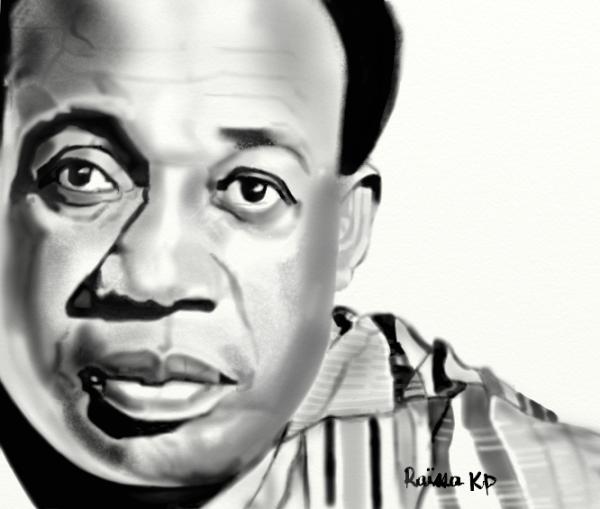 Kwame Nkrumah por RaissaKP